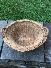 Load image into Gallery viewer, Vintage Rattan Mini French Market Baskets