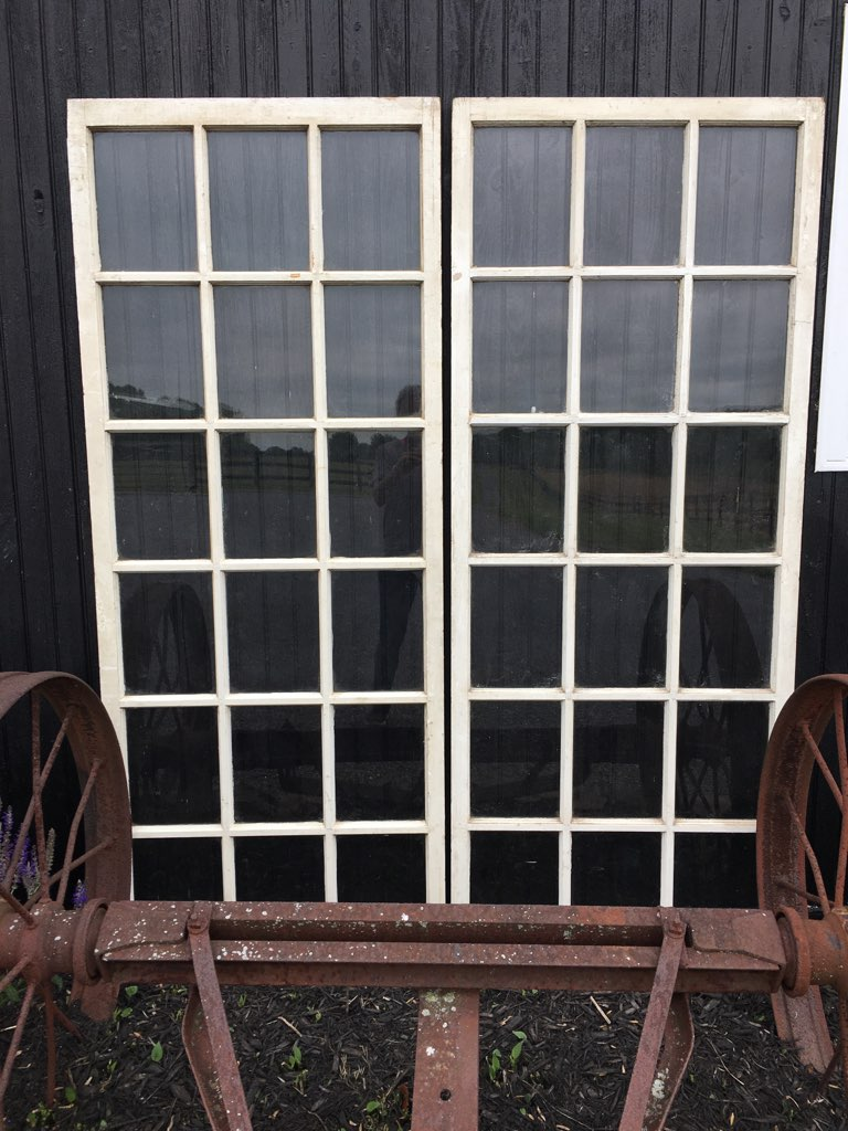 Vintage 18-Pane Window