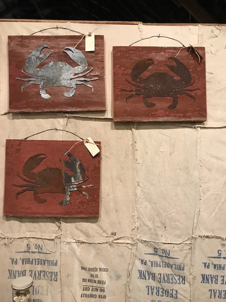 Maryland Crab Wall Art