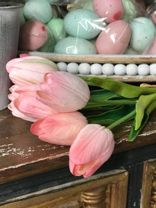 Faux Tulip Bouquet