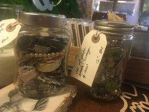 Miscellaneous Craft & Jewelry Jars