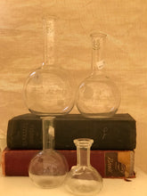 Load image into Gallery viewer, Vintage chemistry bottles