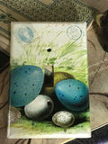 Hand-decoupaged Nest & Egg Switchplate collection
