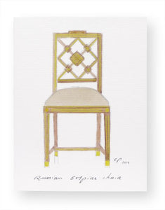 Chair Card - multiple styles