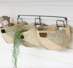 Triple Basket Wall Organizer - FREE SHIPPING