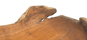 Teak Handcarved Bowl - FREE SHIPPING