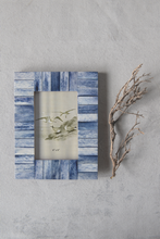 Load image into Gallery viewer, Indigo Wood & Bone Frame - FREE SHIPPING