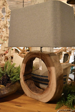 Load image into Gallery viewer, Nimuë Wooden Table Lamp