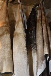 Natural Fawn Cowhide