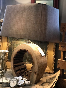 Nimuë Wooden Table Lamp