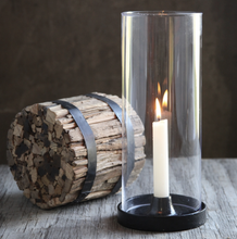 Load image into Gallery viewer, Iron Hurricane Taper Candle