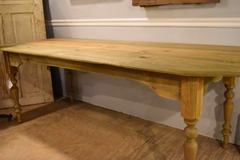Handmade Pine Farm Table