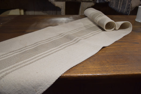 Euro-Striped Table Runner