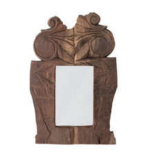 Load image into Gallery viewer, Found Hand-Carved Mirror