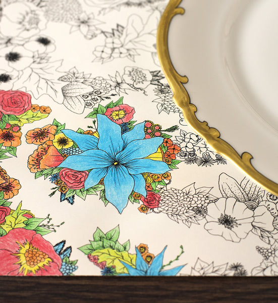 Coloring Placemat Pack