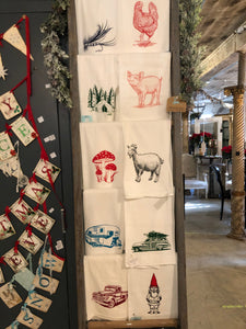 8 Styles Kitchen Flour Sack Towels
