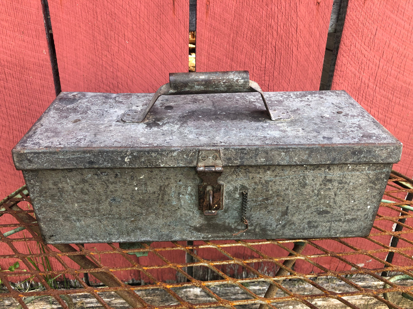 Galvanized Tool Box