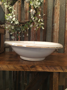 Vintage Ironstone Wash Basin