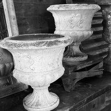 Load image into Gallery viewer, Pair of Vintage Resin Urns
