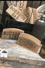 Load image into Gallery viewer, Bourbon Barrel Signs