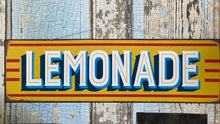 Load image into Gallery viewer, Vintage Style Lemonade Sign