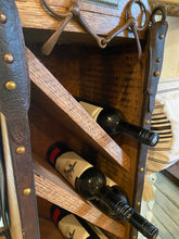 Load image into Gallery viewer, Equestrian Wine Rack