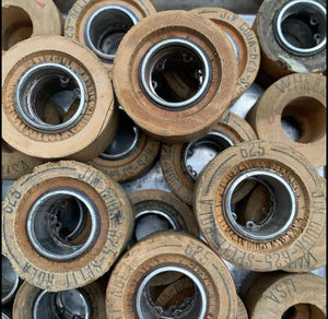Wood Vintage Roller Skate Wheels