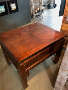 Pair of Asian Influence Style Side Table
