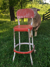 Load image into Gallery viewer, Vintage Kitchen Stool