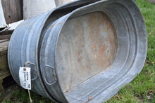 Load image into Gallery viewer, Galvanized Oval Tub On Sale!