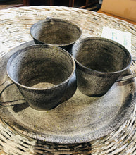 Load image into Gallery viewer, Metal Flower Pot Cups on Tray