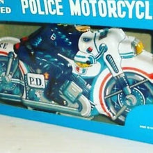 Load image into Gallery viewer, 1960's Tin Motorcycle Policeman