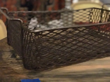 Load image into Gallery viewer, Shop-made industrial baskets