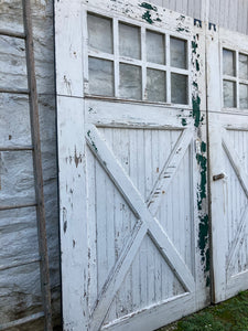 White Farmhouse Door