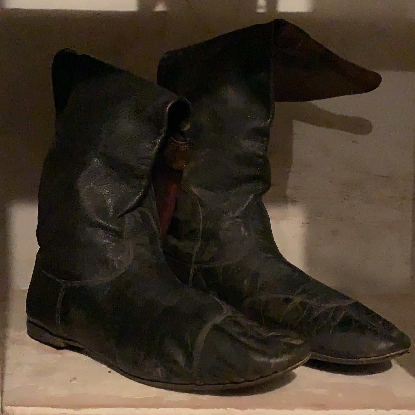 Worn Weathered Boots
