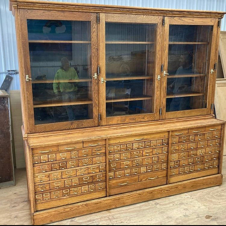 Stunning 106 Drawer General Store Cabinet