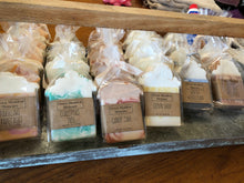 Load image into Gallery viewer, Adorable Handmade Decorated Natural Soaps by Local Artist
