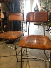 Pair of Heywood Wakefield Midcentury Chairs