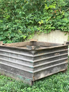 Industrial jumbo planter/fire pit