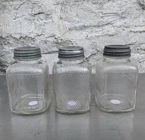 Vintage Glass Coffee Jars