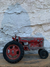 Load image into Gallery viewer, Metal Hubley Toy Tractor