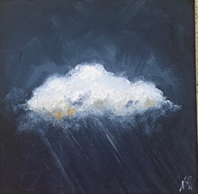 Load image into Gallery viewer, Original cloud painting
