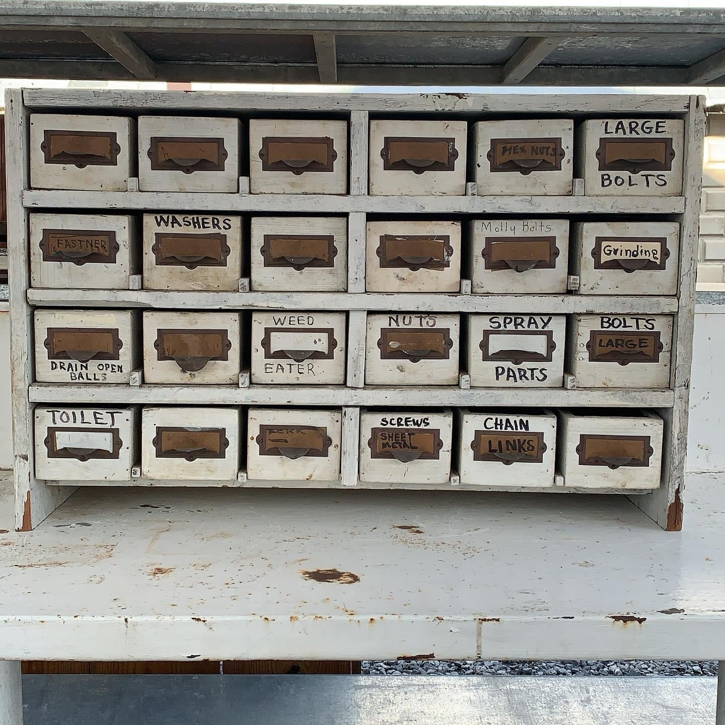 24 Drawer Vintage Storage