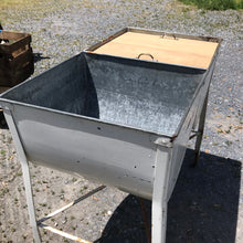 Load image into Gallery viewer, Vintage Double Galvanized Wash tub turned Outdoor Bar