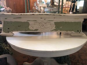 Gorgeous Chippy Antique Mantle