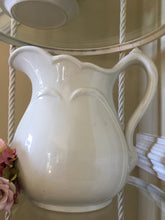 "Load image into Gallery viewer, Vintage XL 10"" Ironstone Pitcher"