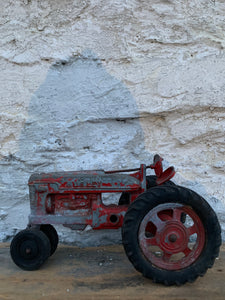 Metal Hubley Toy Tractor