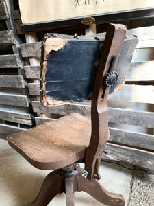 Industrial Swivel Vintage Chair