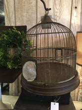 Load image into Gallery viewer, Vintage Birdcage and Stand