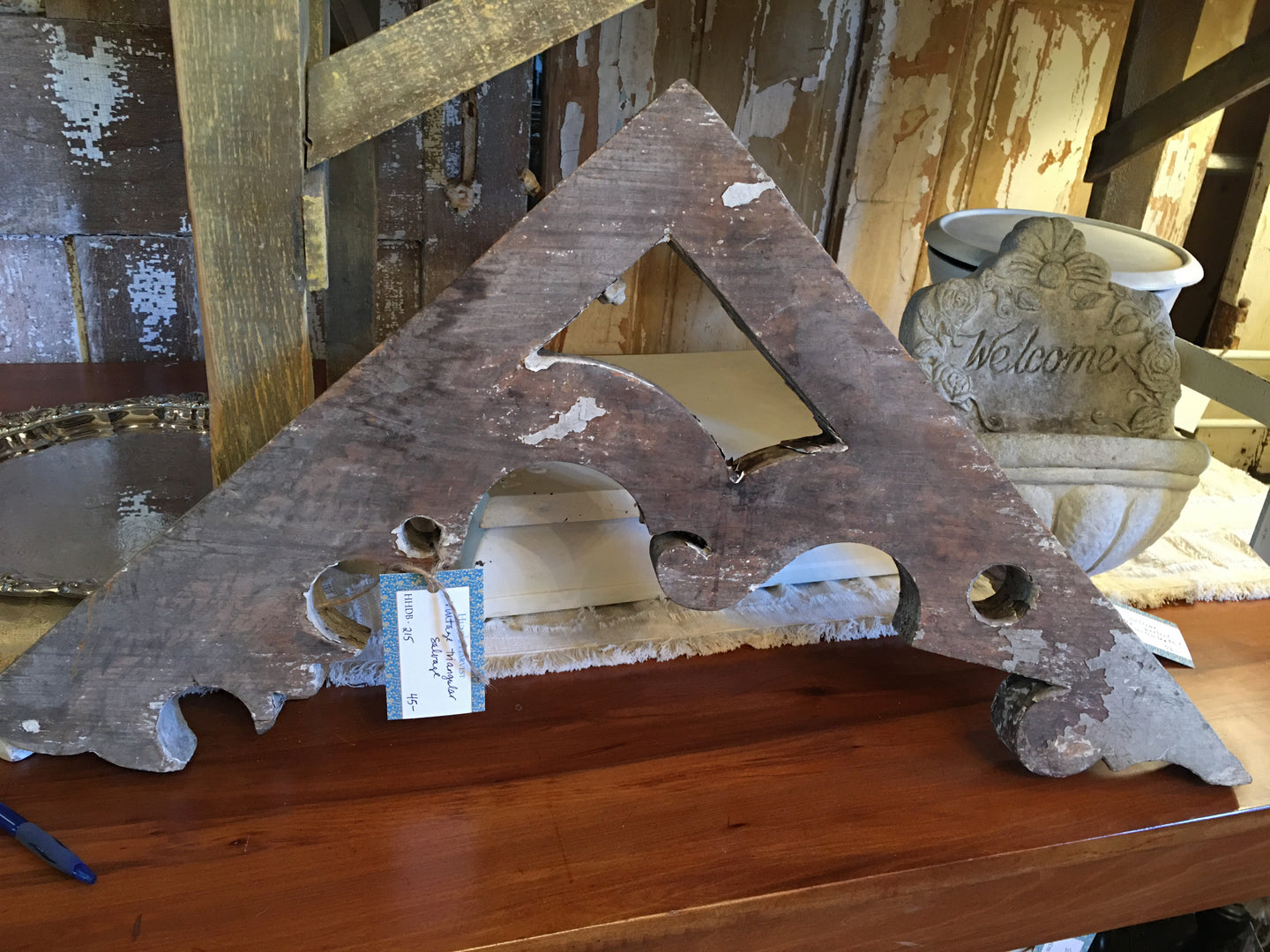 Triangular Architectural Salvage